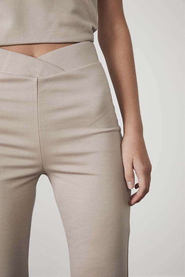 Hype Pull On Pant, BROWN MUSHROOM
