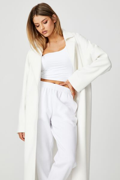 Maxi Coat, IVORY