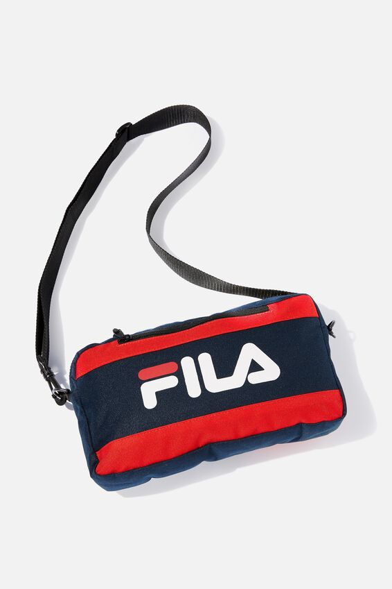 Fila Lcn Side Satchel, NAVY_WHITE