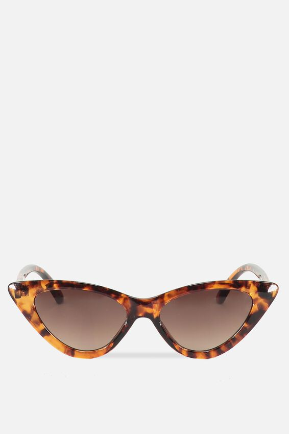 Zarah Cateye Sunnies, S CRY GOLD