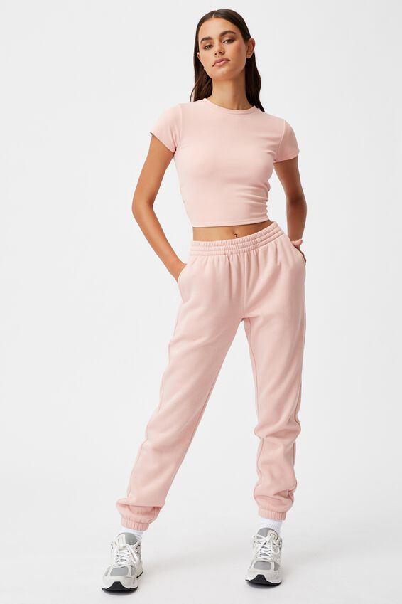 Classic Trackpant, SILVER PINK