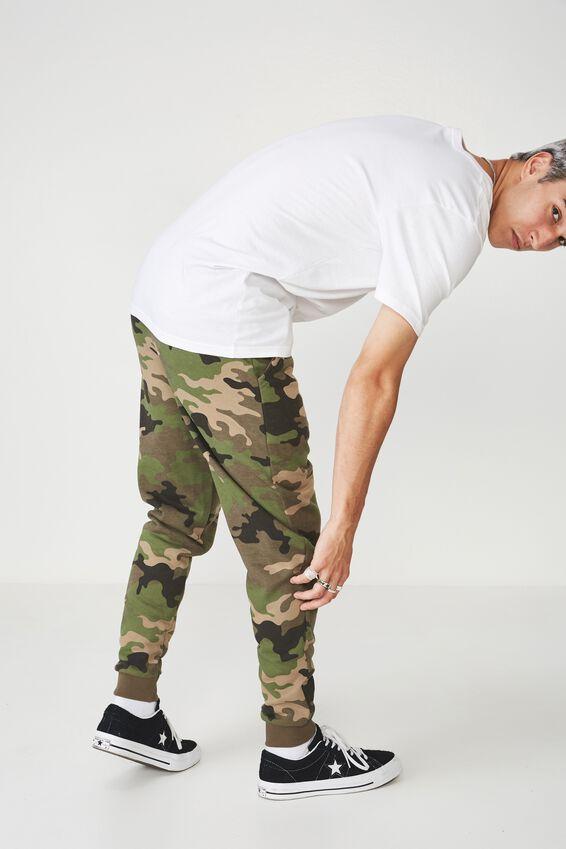 Basic Track Pant, WILDER CAMO