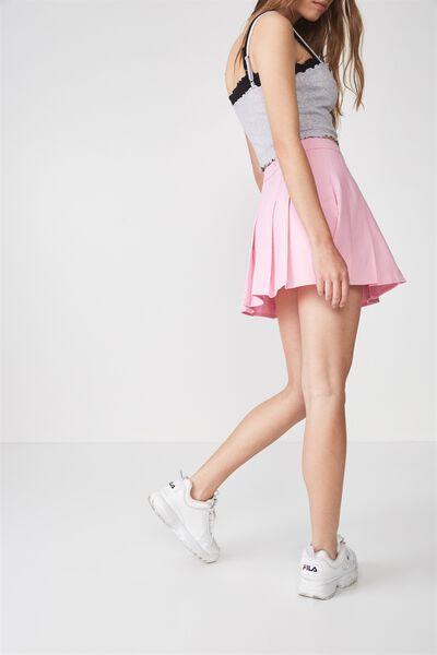 Pleated Skirt, PINK