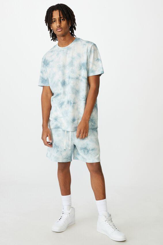 Regular Tie Dye T Shirt, BLUE TIE DYE