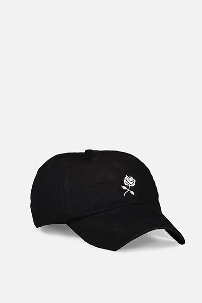 Dad Cap, BLACK_WHITE
