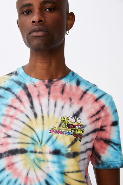 Elevated Regular License T Shirt, LCN NIC TIE DYE/STAY PRETTY