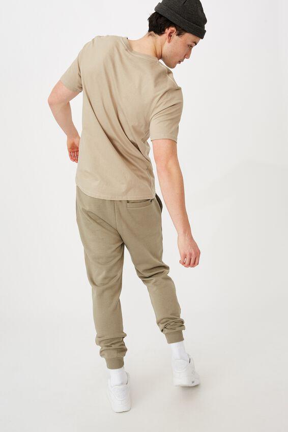 Basic Track Pant, OLD MOSS