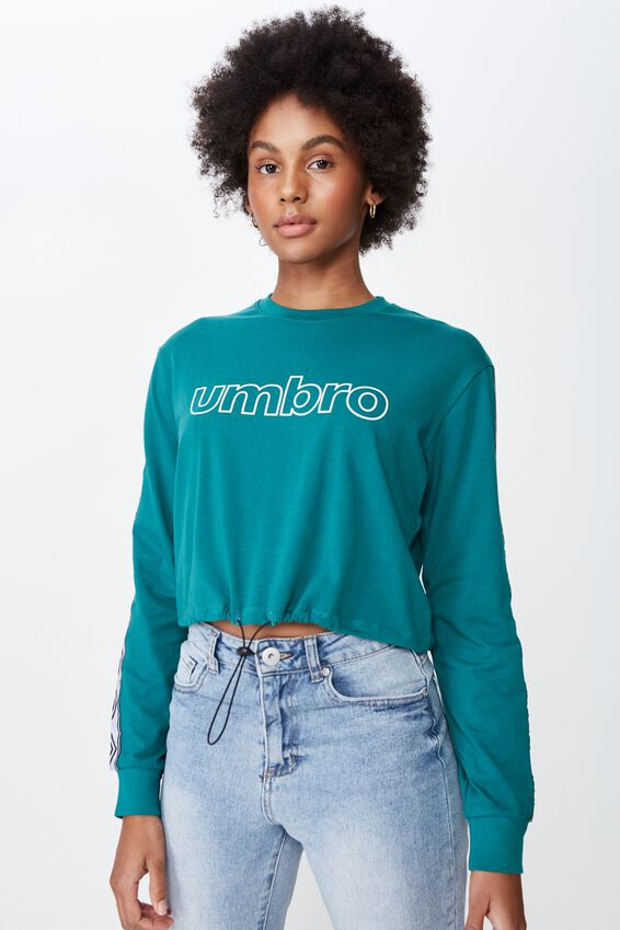 Umbro Lcn Toggle Front Top, ALPINE GREEN