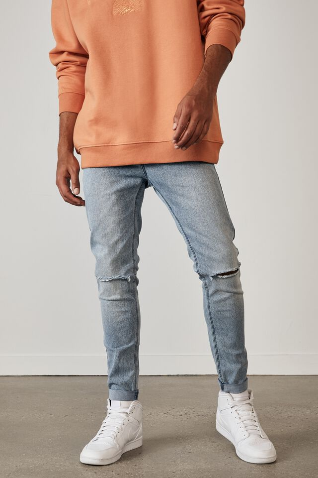 Super Skinny Jean, VIBRANT BLUE