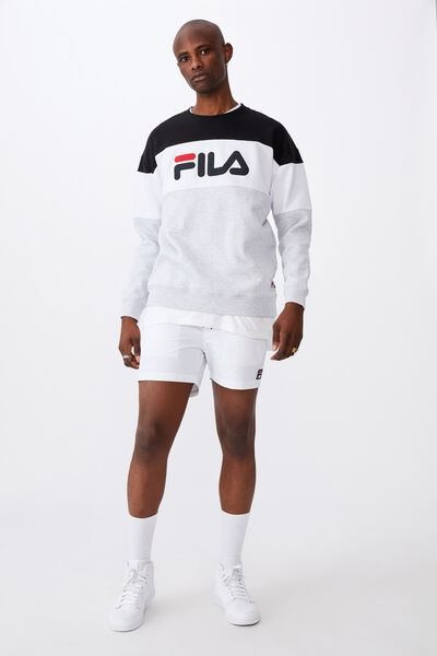 Fila Lcn Oversized Panelled Crew, COLOUR BLOCK/SPORT