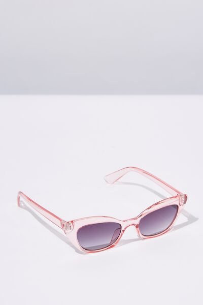 Kitty Cateye Sunglasses, S.CRY P MAUVE_SMK