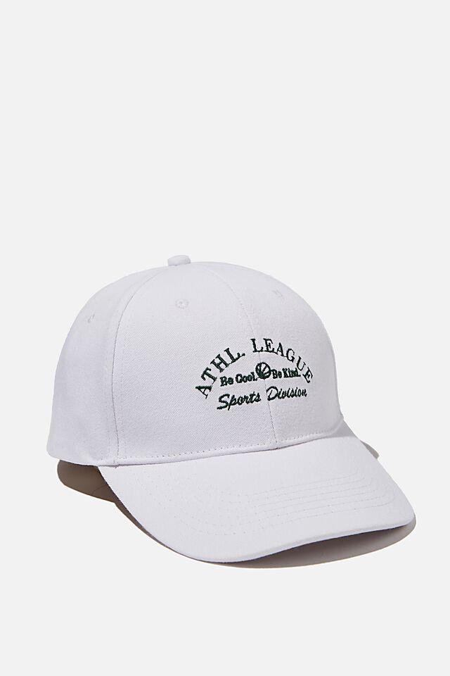 Classic Baseball Cap, WHITE/ATH. LEAGUE