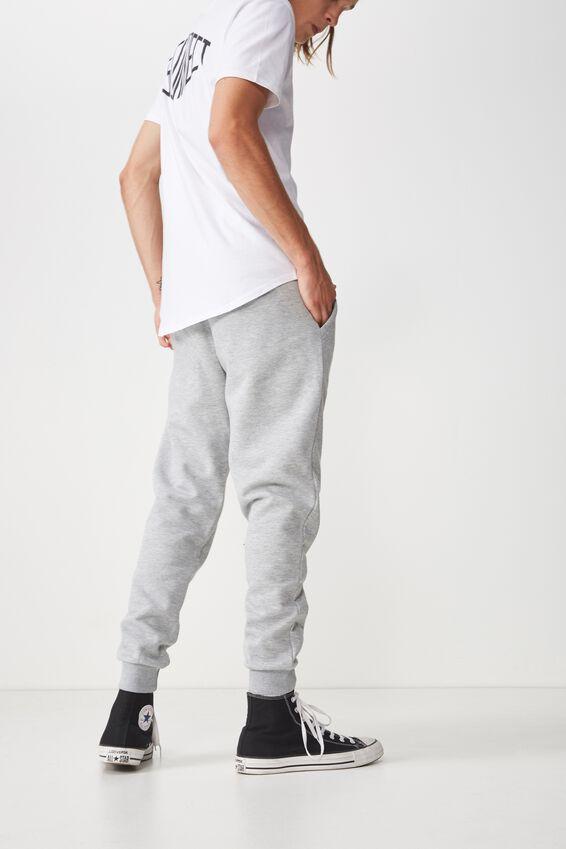 Basic Track Pant, GREY MARLE