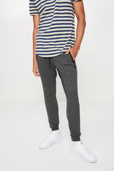 Tech Track Pant, CHARCOAL MARLE
