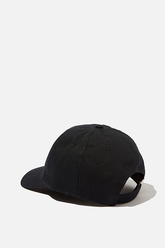 Dad Cap, BLACK_WHITE