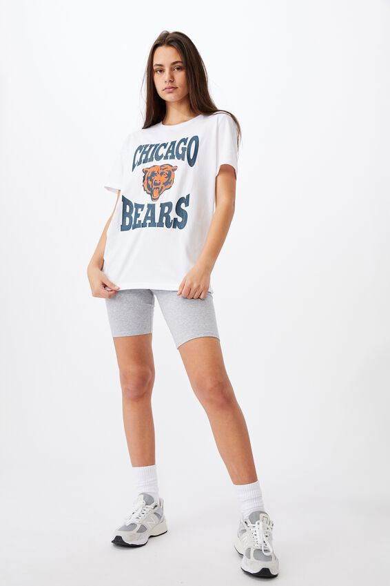 Lcn Relaxed Graphic T Shirt, WHITE/CHICAGO BEARS