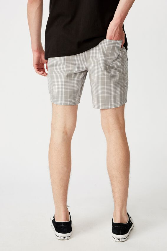 Quay Short, GREY CHECK