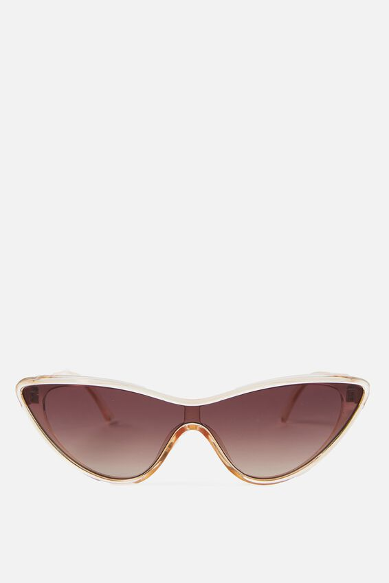 Festival Cateye Sunglasses, YELLOW