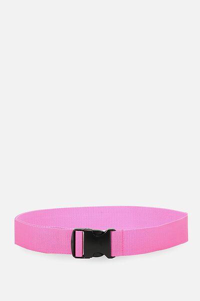 Clasp Belt, PINK