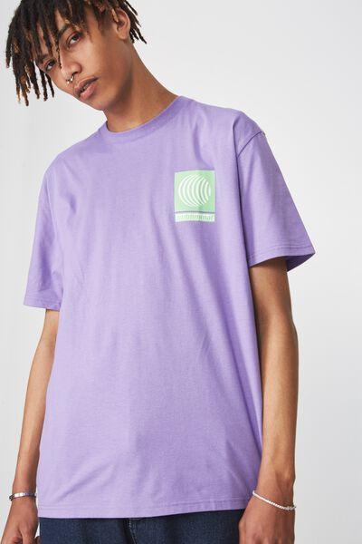 Graphic T Shirt, DAHLIA PURPLE/SUBLIMINAL