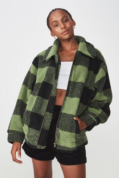Teddington Jacket, KHAKI CHECK