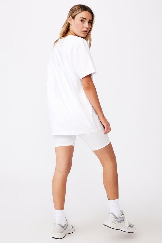 Regular License T Shirt, LCN DIS WHITE/HAPPIEST PLACE