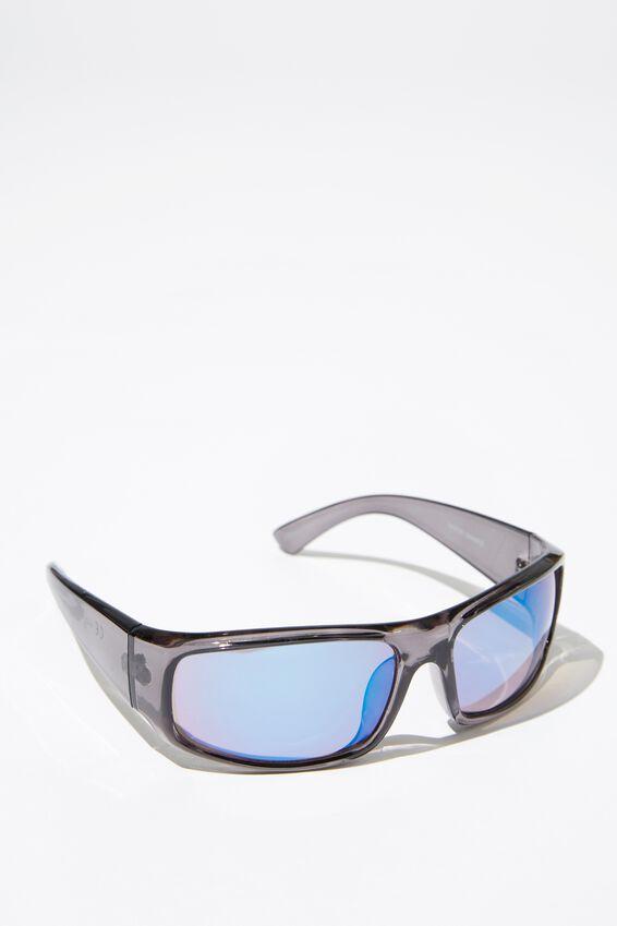 Razor Sunglasses, S.CRY GMETAL_BRN/PUR
