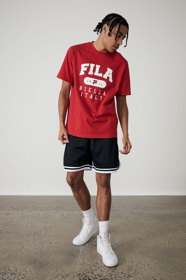 Fila Lcn T Shirt, LYCHEE/FILA ITALY