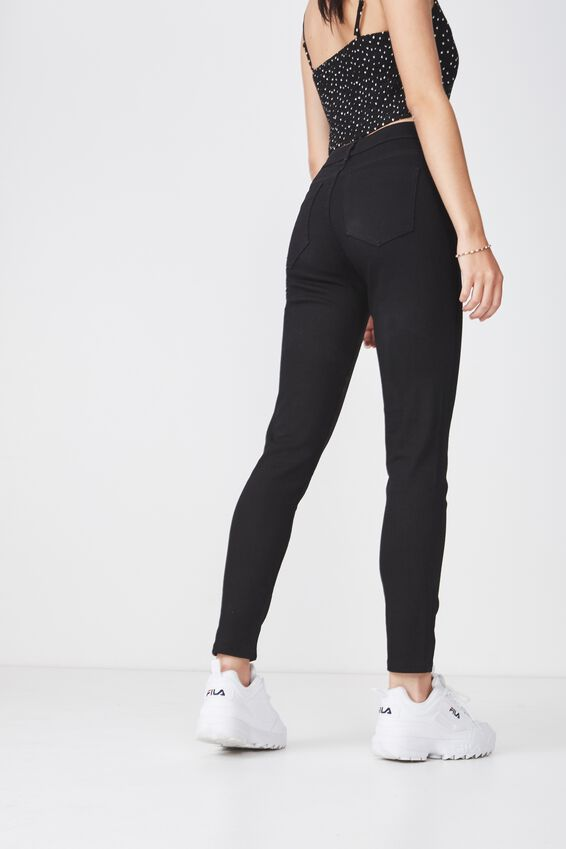 The Mid-Rise Skinny Jean 2, BLACK