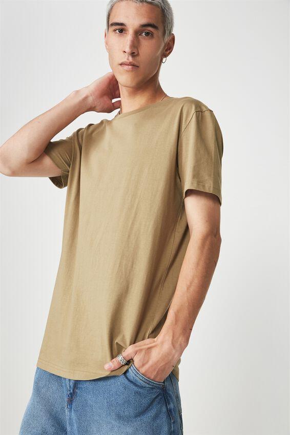 Slim T Shirt, COVERT GREEN