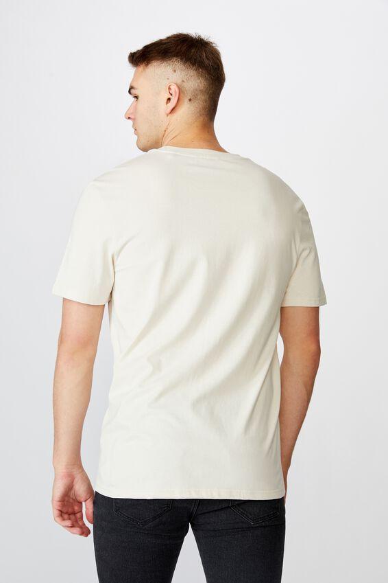 Regular License T Shirt, IVORY/ICE CUBE PEACE