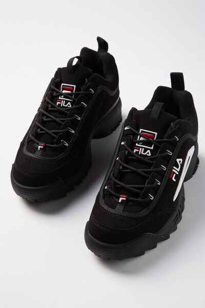 Girls Fila Disruptor 2 Ii, BLACK