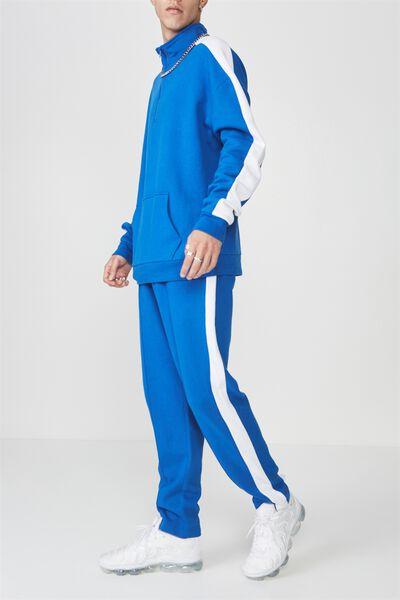 Sports Trackpants, PRINCE BLUE/WHITE STRIPE