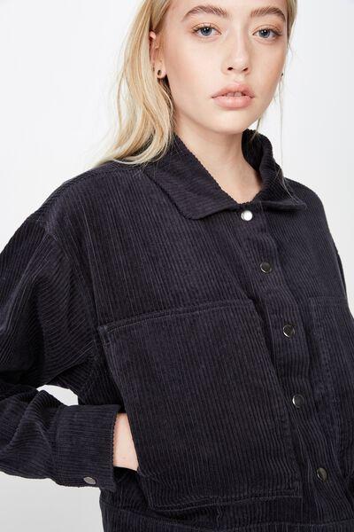 Cord Jacket, SLATE