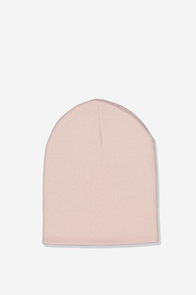 Ribbed Beanie, ROSE