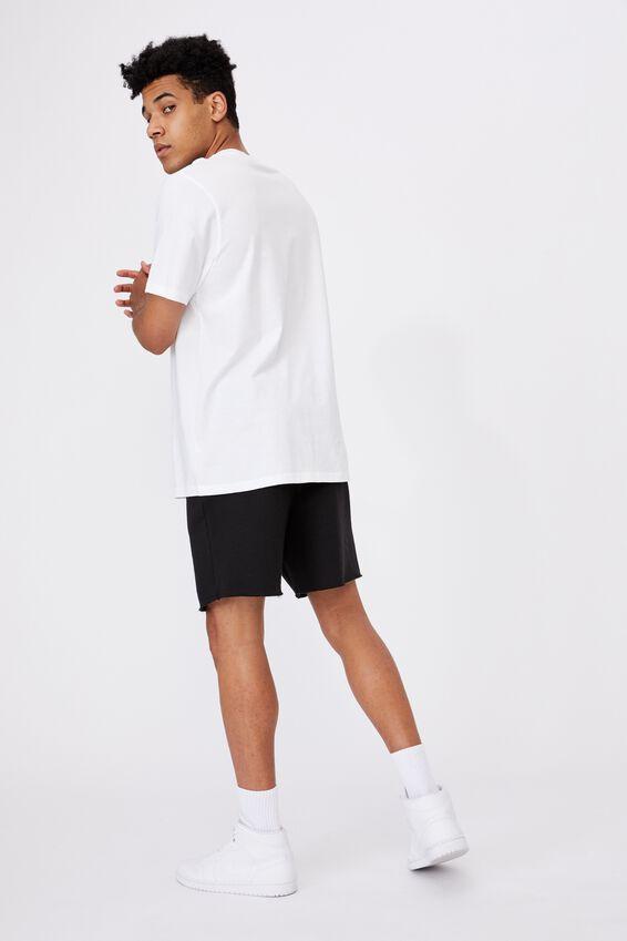 Regular Graphic T Shirt, WHITE/PARALLAX