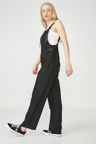 Urban Utility Overall, BLACK