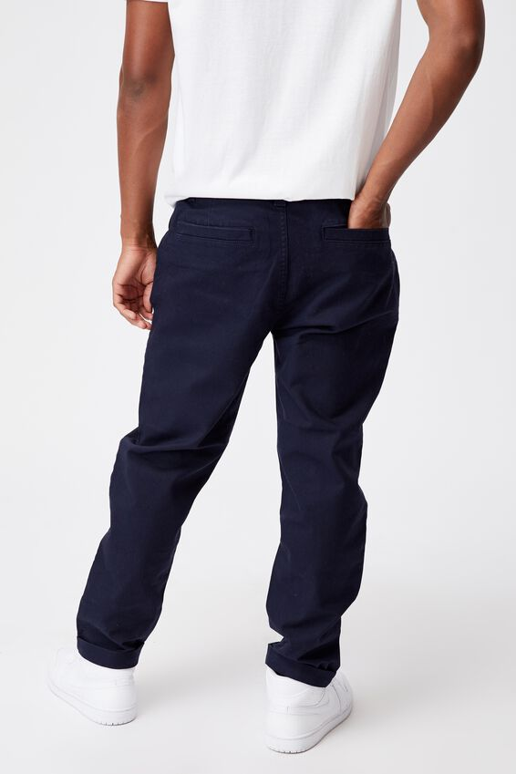 Relaxed Fit Chino, NAVY