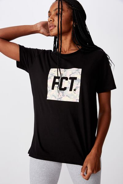 Fct Relaxed Graphic T Shirt 1, SOFT CAMO/BLACK