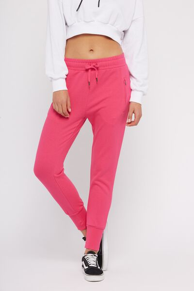Skinny Fit Trackpant 2, PINK YARROW