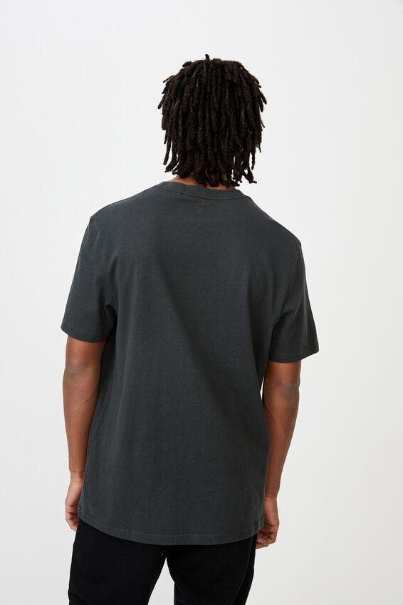 Regular License T Shirt, LCN NFL PIRATE BLACK/RAIDERS