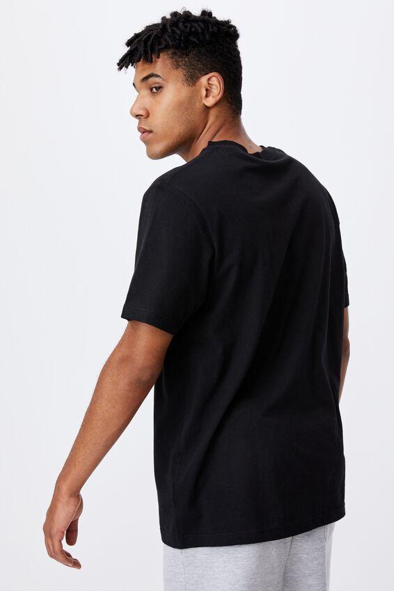 Regular Tv Movie T Shirt, LCN LUC BLACK/STAR WARS LOGO