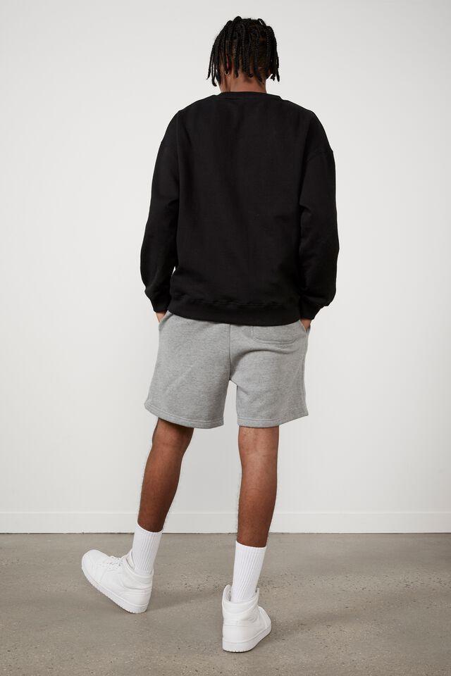 Fila Lcn Classic Fleece Short, MID GREY MARLE/FILA