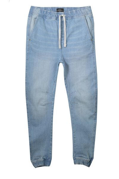 The Denim Jogger, LIGHT BLUE