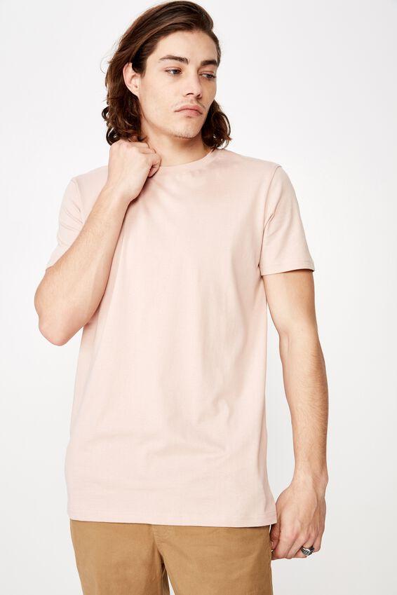 Slim T Shirt, SANDY PEACH