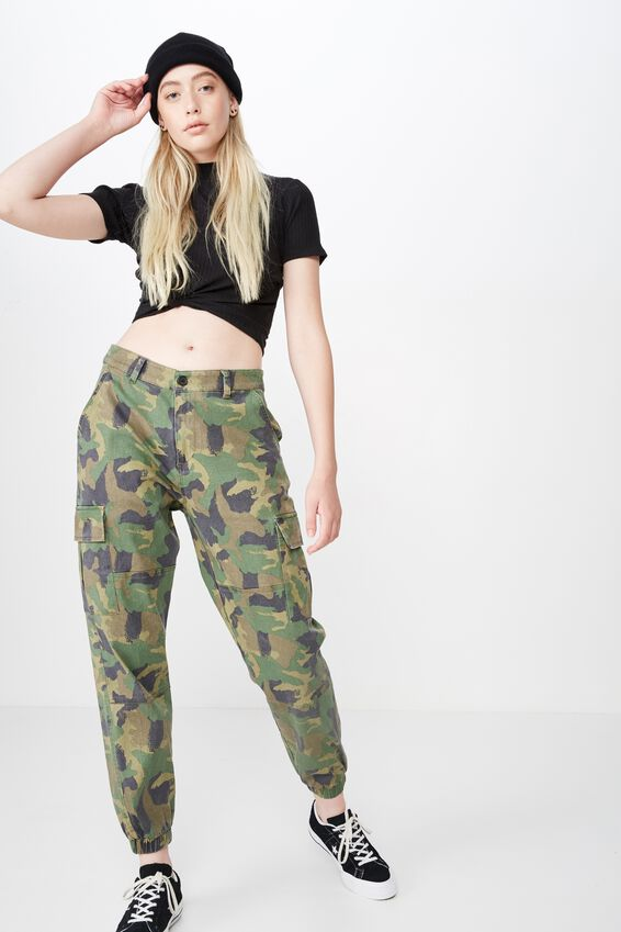 Urban Pocket Utility Pant, PAINTSTROKE CAMO