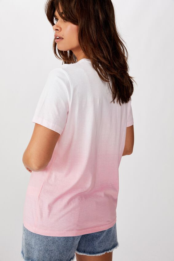 Relaxed Graphic T Shirt, BEGONIA PINK/ASTRO SUN