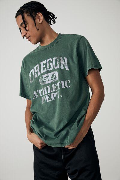 Regular Graphic T Shirt, WASHED FOREST PINE/OREGON