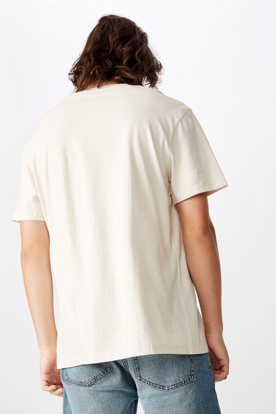 Regular Graphic T Shirt, IVORY LOCALS