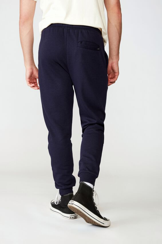Basic Track Pant, NAVY